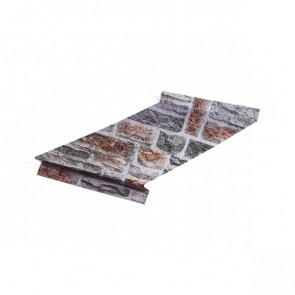Отлив оконный (20x350x20x20)*2000 Printech Кварцевый сланец 3D