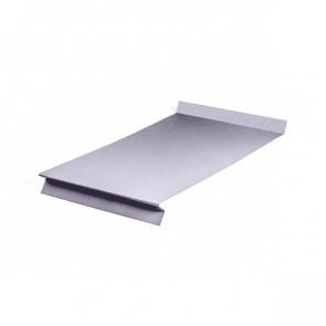 Отлив оконный (20x350x20x20)*1250 ZN (оцинкованная сталь)