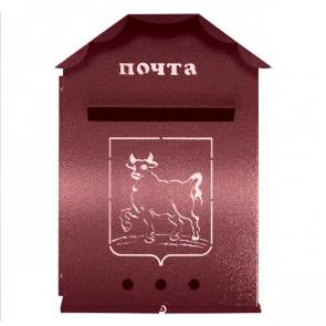 Почтовый ящик (450*300*90) RAL 3005 (винно-красный)