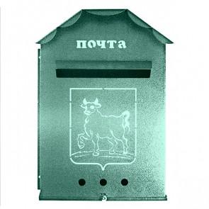 Почтовый ящик (450*300*90) RAL 6005 (зеленый мох)