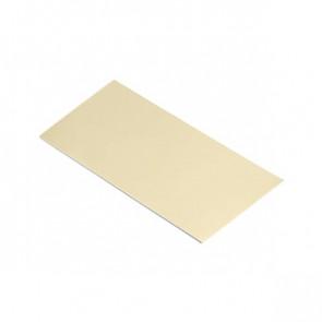Полоса шовная для металлических фасадных панелей (60 мм) RAL 1014 (слоновая кость)