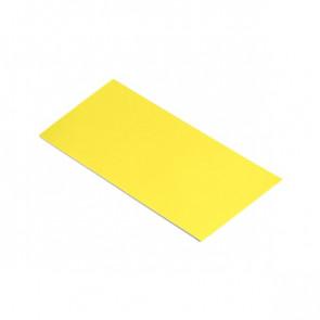 Полоса шовная для металлических фасадных панелей (60 мм) RAL 1018 (цинково-желтый)