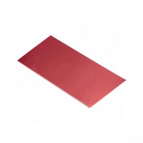 Полоса шовная для металлических фасадных панелей (60 мм) RAL 3003 (рубиново-красный)