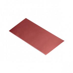 Полоса шовная для металлических фасадных панелей (60 мм) RAL 3011 (коричнево-красный)