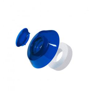 Термошайба для сотового поликарбоната цвет синий