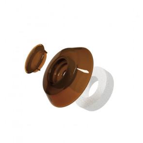 Термошайба для сотового поликарбоната цвет бронзовый