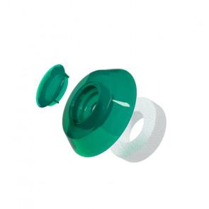 Термошайба для сотового поликарбоната цвет зеленый
