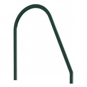 Поручень фасадной лестницы RAL 6005 (зеленый мох)