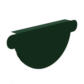 Заглушка желоба D 125 «Престиж», RAL 6005 (Водосток)