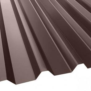 Профнастил С-44 (1047/1000) 0,45 полиэстер RAL 8017 (шоколадно-коричневый)