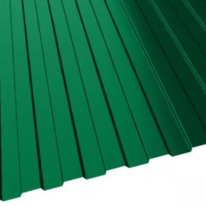 Профнастил МП-10 (1200/1100) 0,65 полиэстер RAL 6029 (мятно-зеленый)