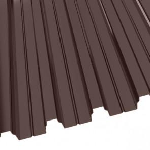 Профнастил Н-75 (800/750) 0,65 полиэстер RAL 8017 (шоколадно-коричневый)