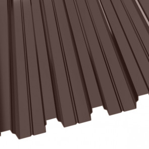 Профнастил Н-75 (800/750) 1 полиэстер RAL 8017 (шоколадно-коричневый)