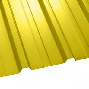 Профнастил НС-35 (1075/1015) 0,45 полиэстер RAL 1018 (цинково-желтый)
