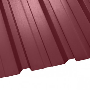 Профнастил НС-35 (1075/1015) 0,45 полиэстер RAL 3005 (винно-красный)