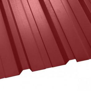 Профнастил НС-35 (1075/1015) 0,5 полиэстер RAL 3011 (коричнево-красный)