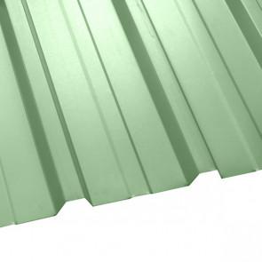 Профнастил НС-35 (1075/1015) 0,45 полиэстер RAL 6019 (бело-зеленый)