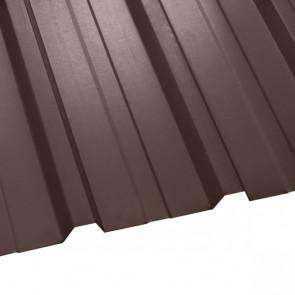 Профнастил НС-35 (1075/1015) 0,45 полиэстер RAL 8017 (шоколадно-коричневый)