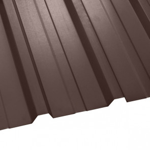Профнастил НС-35 (1075/1015) 0,5 полиэстер RAL 8017 (шоколадно-коричневый)