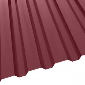 Профнастил R-20 (1150/1100) матовый 0,5 RAL 3005 (винно-красный)