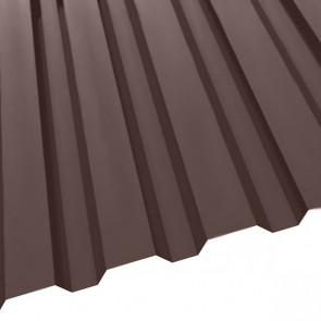 Профнастил R-20 (1150/1100) матовый 0,5 RAL 8017 (шоколадно-коричневый)