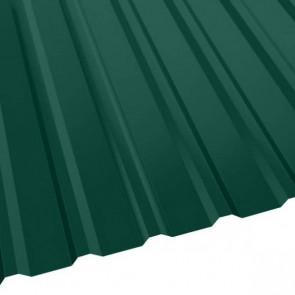 Профнастил R-20 (R) с капельником (1130/1080) 0,5 полиэстер RAL 6005/6005 (зеленый мох) (Профнастил)