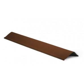 Щипец элемент кровли для черепицы Ондулин (120*70*1000) цвет коричневый