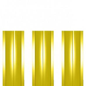 Штакетник металлический ШМ-114 (прямой) 0,4 полиэстер RAL 1018 (цинково-желтый)