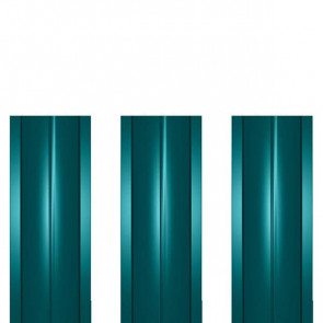 Штакетник металлический ШМ-114 (прямой) 0,45 полиэстер RAL 5021 (водная синь)