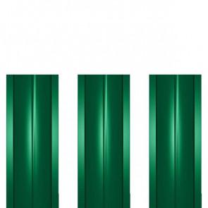Штакетник металлический ШМ-114 (прямой) 0,4 полиэстер RAL 6029 (мятно-зеленый)