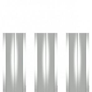 Штакетник металлический ШМ-114 (прямой) 0,4 полиэстер RAL 9003 (сигнальный белый)