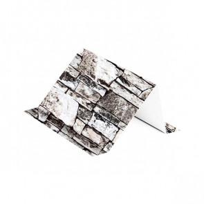 Снегозадержатель (120*80), 2 м, ECOSTEEL белый камень