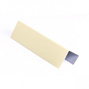 Стартовая планка для металлических фасадных панелей (40*25*20) RAL 1015 (слоновая кость светлая)