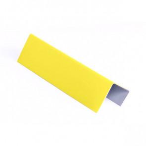 Стартовая планка для металлических фасадных панелей (40*25*20) RAL 1018 (цинково-желтый)
