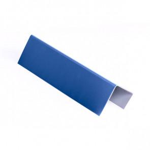 Стартовая планка для металлических фасадных панелей (40*25*20) RAL 5005 (сигнальный синий)