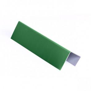 Стартовая планка для металлических фасадных панелей (40*25*20) RAL 6002 (лиственно-зеленый)