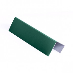 Стартовая планка для металлических фасадных панелей (40*25*20) RAL 6005 (зеленый мох)