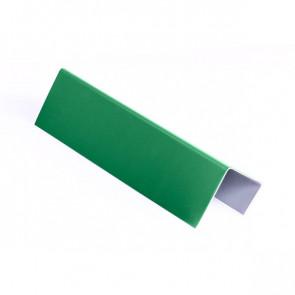 Стартовая планка для металлических фасадных панелей (40*25*20) RAL 6029 (мятно-зеленый)
