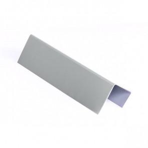 Стартовая планка для металлических фасадных панелей (40*25*20) RAL 7004 (сигнальный серый)