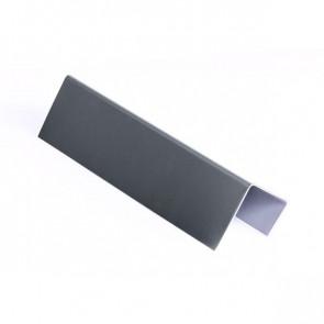 Стартовая планка для металлических фасадных панелей (40*25*20) RAL 7024 (графитовый серый)