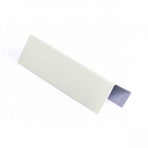 Стартовая планка для металлических фасадных панелей (40*25*20) RAL 9002 (серо-белый)