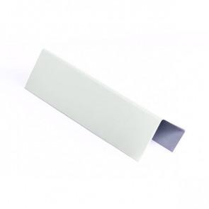 Стартовая планка для металлических фасадных панелей (40*25*20) RAL 9003 (сигнальный белый)