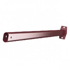 Стеновой кронштейн фасадной лестницы RAL 3005 (винно-красный)