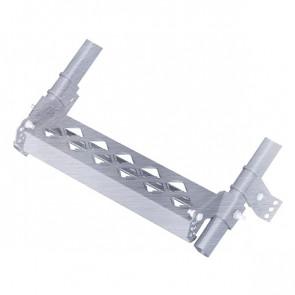 Дополнительная ступень с противоскользящим покрытием для кровельной лестницы (450*100) ZN (оцинкованная сталь)