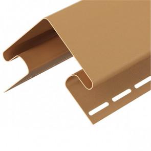 Угол внешний для винилового сайдинга DOCKE (3000) карамель