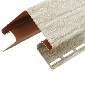 Угол внешний для винилового сайдинга DOCKE LUX (3000) орех