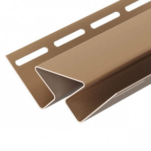 Угол внутренний для винилового сайдинга DOCKE (3000) капучино