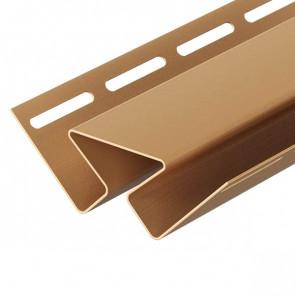 Угол внутренний для винилового сайдинга DOCKE (3000) карамель