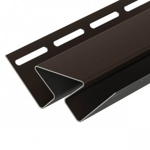 Угол внутренний для винилового сайдинга DOCKE (3000) шоколад