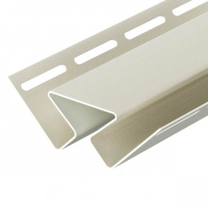 Угол внутренний для винилового сайдинга DOCKE (3000) сливки